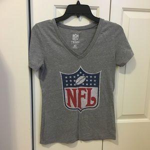 NFL V-Neck T-shirt
